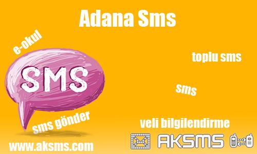 Adana sms,okul sms,e-okul sms,şirket sms,adana toplu sms