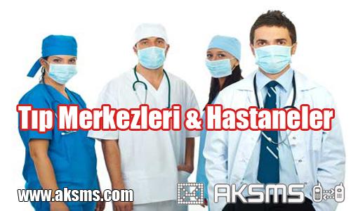 Tıp Merkezleri ve Hastaneler için Toplu sms